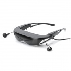 "iTheater 80"" 3D Video Glasses w/ TF / Earphone - Black + Silver"