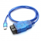 Opel Tech2 USB Cable Car Vehicle Diagnostic Tool - Blue