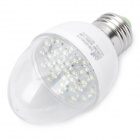 E27 1.5W 6500K 158-Lumen 30-LED White Light Bulb (AC 180~240V)