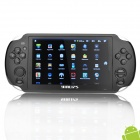 "YDPG18 5 ""-Touchscreen-Android 2.2 Spielkonsole w / TF / Mini USB / HDMI - Schwarz (4 GB RAM Flash/512MB)"