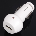 Car Cigarette Powered Charger for Apple iPhone 4 / 3G / iPod Touch - White