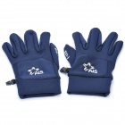 Anti-Slip Capacitive Screen Touching Hand Warmer Gloves - Blue (Size-M)