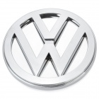 3D Volkswagen Bora Logo Badge Blue Brake Light - Silver (DC 12V)