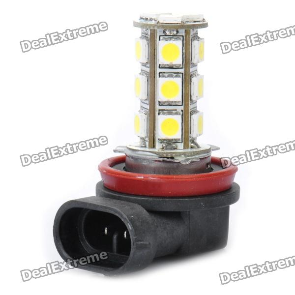 H11 3W 7000K 160-Lumen 18-5050 SMD LED White Light Car Front Fog Lamp (DC 12V) forex b016 h 5050