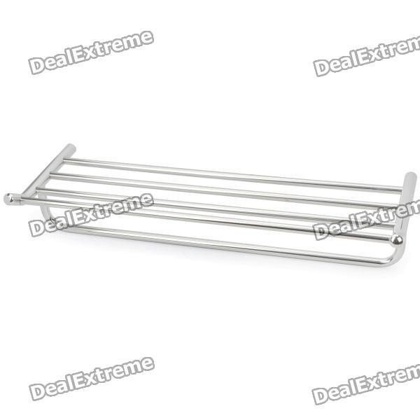 24 Stainless Steel Bathroom 5-Bar Towel Rack stainless steel material aaron wire bar effective coating width 200mm scraping ink bar
