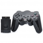 2.4GHz Wireless Controller for PS2 - Black (3 x AAA)