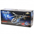 4F200LM Tri-Blade 2.4GHz 6-Channel R/C Helicopter with Three-Axis Gyro - Black + Blue