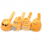 Funny Poop Expression Stress Relieving Massage Hammer w/ Sound Effects (Random Pattern)