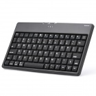 Ultra-Thin Silicone Bluetooth V2.0 76-Key Keyboard - Black