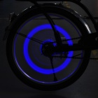Motion Activated Dice Style 0.1W Blue LED Wheel Light for Car / Motorcycle / Bicycle (3xAG10 / Pair)