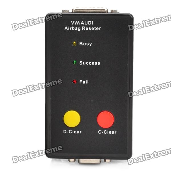 VW Audi Airbag Reset Tool - Black new arrival airbag resetter for audi vw airbag reset tool free shipping