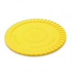Silicone Energy Cup Mat Coaster - Yellow