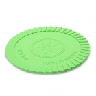 Silicone Energy Cup Mat Coaster - Green
