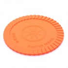 Silicone Energy Cup Mat Coaster - Orange
