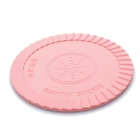Silicone Energy Cup Mat Coaster - Pink