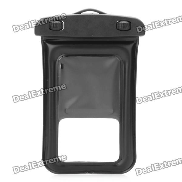Universal Waterproof Bag with Strap for Iphone & Other Cell Phones - Black