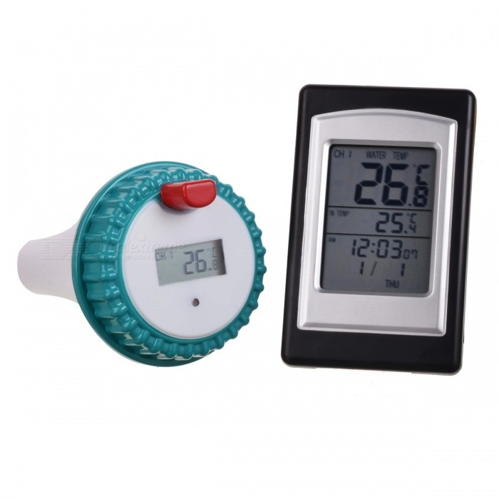 Wireless Indoor & Outdoor Pool Thermometer (2xAA + 2xAAA)