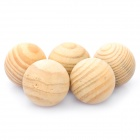 Fragrant Wood Camphor Balls (5-Pack)