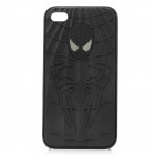 3D Spiderman Image Pattern Protective PC Case for iPhone 4 / 4S - Black