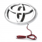Auto Car Logo Badge 27x3528 LED Blue Light Sticker for Toyota REIZ (DC 12V)
