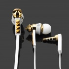 Designer's Fashion Stereo Earphone w/ Microphone (3.5mm Jack / 119cm-Cable)