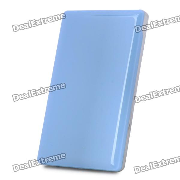 2.5 SATA USB 3.0 HDD Enclosure - Blue + Silver 2 5 sata usb 3 0 hdd enclosure with pouch black silver super speed 5gbps