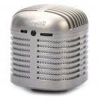 USB Rechargeable Resonance Speaker w/ FM / TF - Matte Silver
