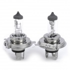 Designer's H4 12342 55/60W White Halogen Headlight Bulbs (Pair / DC 12V)