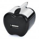 Apple Shaped Universal USB AC Power Adapter