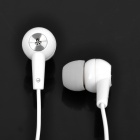 Stylish Earphone with Microphone for Iphone (3.5mm Jack / 142cm-Cable)