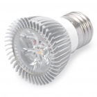 E27 3W 3500K 200-Lumen 3-LED Warm White Light Bulb (100 ~ 245V)