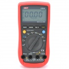 "UNI-T UT61A 2.7"" LCD Digital Multimeter - Red + Grey (1 x 9V 6F22)"
