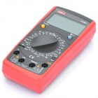 "UNI-T UT39C 2.5"" LCD Digital Multimeter - Red + Black (1 x 9V 6F22 Battery)"