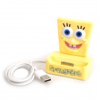 SpongeBob Style USB Charging Docking Station for iPhone 4S / 4 - Yellow