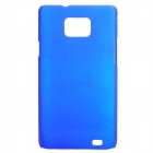 Protective PC Back Case for Samsung i9100 - Blue