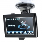 "4.3"" Touch Screen WinCE 6.0 GPS Navigator w/ FM / AV-In / SD / Built-in 4GB Europe & US Maps"