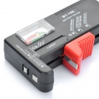 BT-168 Battery Tester - Black + Red