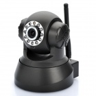 Wireless 3G Remote Pan/Tilt 300 KP CCTV Camera with 11-IR Night Vision / Microphone / TF