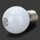 E27 0.5W 6500K 40-Lumen 7-LED White Light Bulb (AC 220V)
