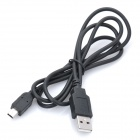 Mini 5-Pin T-Shaped Steel Head USB Cable for MP3 / MP4 / Camera (90cm)