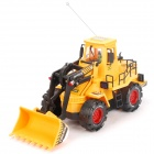 40MHz Remote Control Bulldozer Toy - Yellow + Black