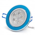 5W 6500K 490-Lumen 5-LED White Light Ceiling Down Lamp w/ Driver (AC 100~245V)