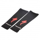 Elastic Outdoor Sports Bicycle Cycling Arm Sleeves Covers - Black (Size-L / Pair)