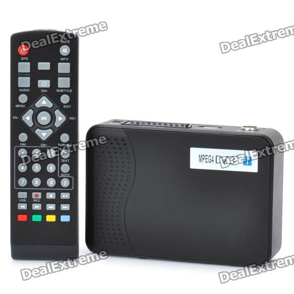 MPEG4 DVB-T High Definition Digital Terrestrial Receiver w/ Remote controller