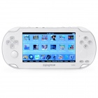 "4,3 ""TFT LCD Media Player Spielkonsole w / FM / Camera / TV-Out / TF - White (4GB)"