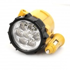 Car Cigarette Lighter Powered 0.49W 6500K 30-Lumen 7-LED White Light Repair Lamp (DC 12V)