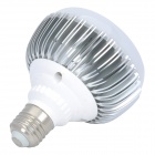 E27 9W 950LM 6000K White 9-LED Light Bulb (AC 89-265V)