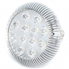 E27 12W 1140LM 6000K White 12-LED Spot Light Bulb (AC 89-265V)