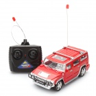 01.24 2-CH 27MHz R / C Hummer Modell Spielzeug - Rot (3 x AA / 2 x AA)