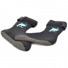 Anti-skidding Diving Socks - Black (L-Size/Pair)